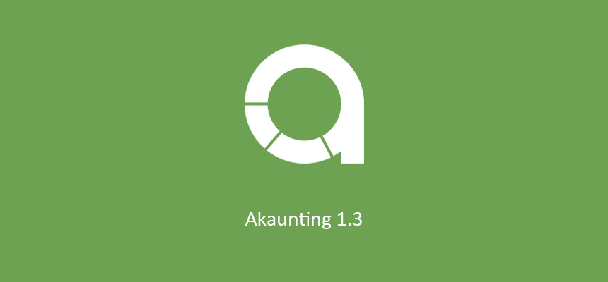 Just shipped > Akaunting 1.3