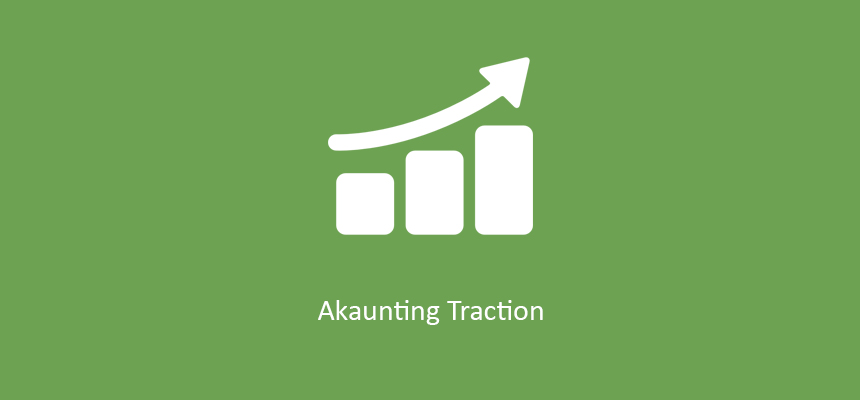 Akaunting 3 Months Traction